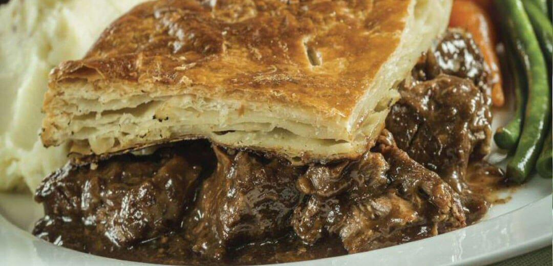 a) Hogmanay Steak Pie - Christie Butcher
